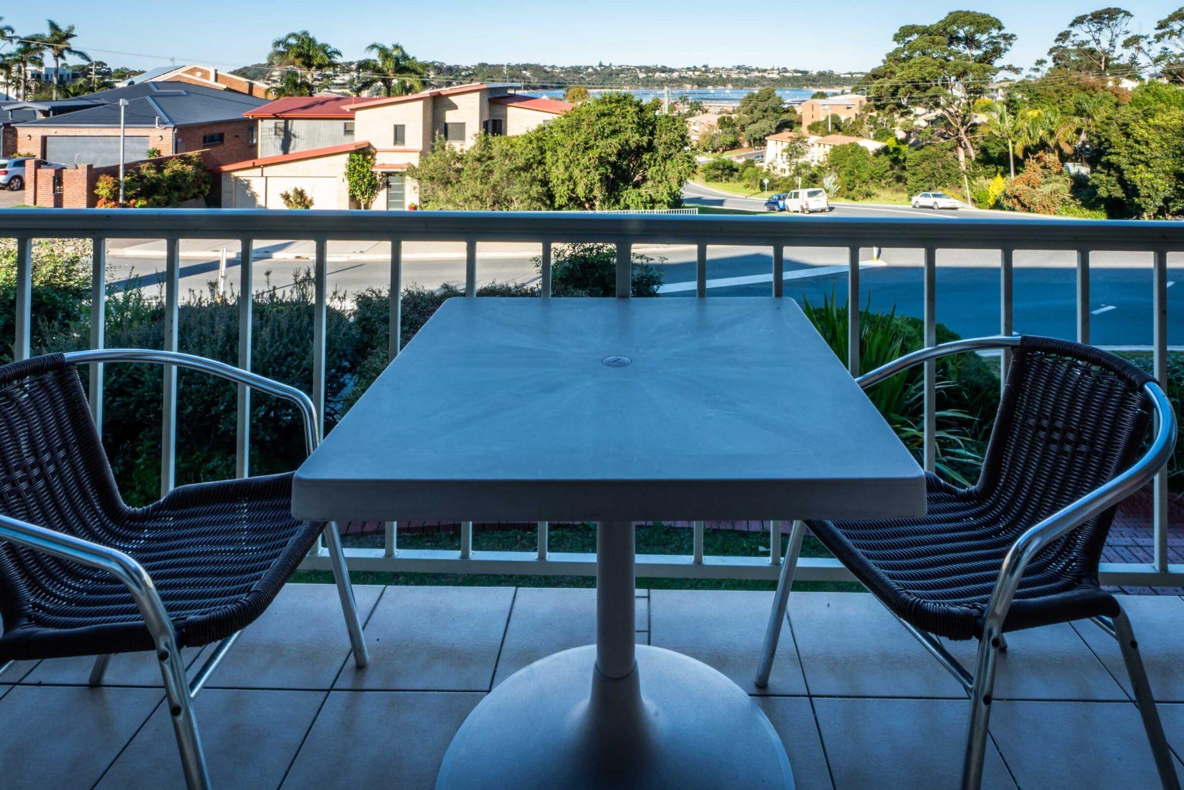 7-Outdoors Patio-7 Large Suite Merimbula Motel Accommodation - Comfort Inn Merimbula